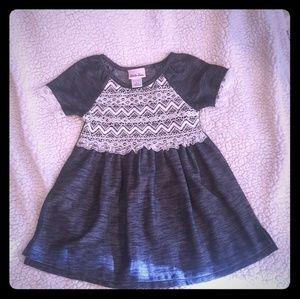 Little lass lace detail dress